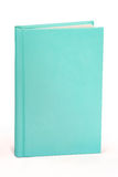 Aqua Book Hardcover - clipping path Royalty Free Stock Image