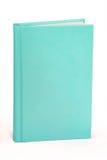 Aqua Book Hardcover - percorso di ritaglio Immagine Stock Libera da Diritti
