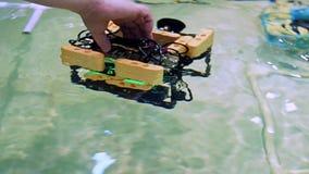 Aqua Bot Rover Swimming Pool rob?tico filme