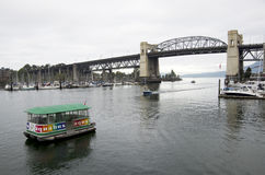 Aqua Bus Vancouver Stockfoto