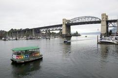 Aqua Bus Vancouver Stock Photo