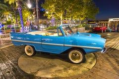 Aqua Car royalty free stock image