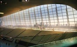 Aqua centre Londyńska s wioska olimpijska Obraz Stock