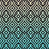 Aqua Chevron Moroccan pattern Royalty Free Stock Photos