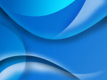 Aqua curve back. Abstract chaos aqua curve pattern blue background Royalty Free Stock Photography