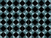 Abstract geometric design aqua / cyan colours. Aqua / cyan  abstract geometric design with triangles Stock Photo