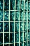 Aqua-Glaswand Stockfotos