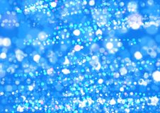 Aqua Glitter Background. Bokrh Background royalty free stock images