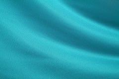 Aqua-Grüne Gewebe-Beschaffenheit Lizenzfreies Stockfoto