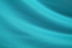 Aqua-Green Fabric Texture Royalty Free Stock Photo