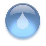 Aqua-Ikone Lizenzfreie Stockfotografie