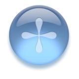 aqua ikony Zdjęcie Royalty Free