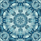 Aqua Kaleidoscope Stock Photos