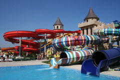 Aqua Land on the Black Sea Coast Stock Image