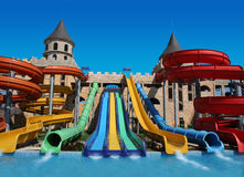 Aqua Land in Nesebar Royalty Free Stock Image