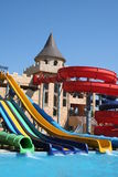 Aqua Land in Nesebar Royalty Free Stock Images
