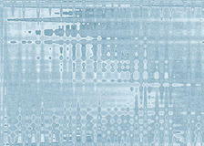 Aqua Line Shaped Abstract aleatória para fundos fotos de stock royalty free