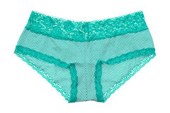 Aqua lingerie isoalted Stock Photography