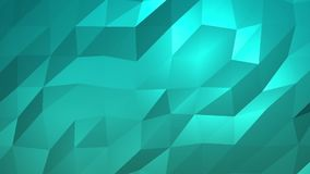 Aqua Low Poly Abstract Background Inconsútil loopable libre illustration