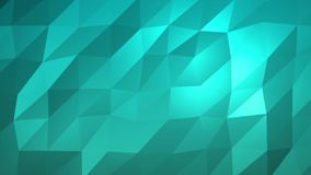 Aqua Low Poly Background Illustration Libre de Droits