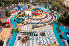 Aqua Magic Park in Mamaia immagini stock libere da diritti