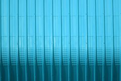 Aqua metal sheet pattern and vertical line design. Metal sheet pattern and vertical line design on surface abstract aluminum architecture background blank bright royalty free stock image