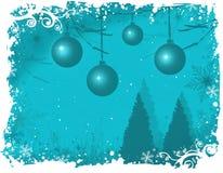 Aqua nevado do wonderland/do inverno ilustração royalty free