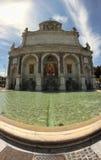 Aqua Paola Fountain Stock Image