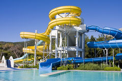Aqua-Park lizenzfreies stockfoto