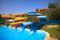 Aqua park Stock Photography