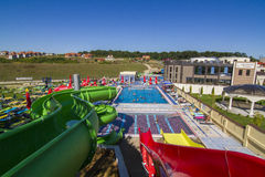 Aqua Park Baile Felix Stock Photography