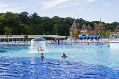 Aqua park in Felix Romania Royalty Free Stock Photo