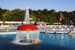 Aqua park in Felix Romania Stock Image