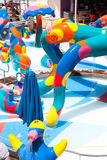 Aqua park for kids Stock Images