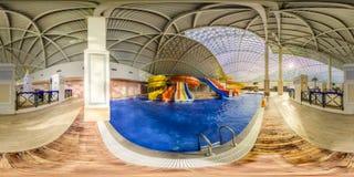 Aqua Park nella città di Gorki Sochi, Krasnaya Polyana fotografie stock