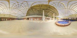Aqua Park nella città di Gorki Sochi, Krasnaya Polyana fotografie stock libere da diritti