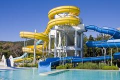 Aqua-parque Foto de archivo libre de regalías