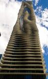 Aqua Skyscraper Stock Images