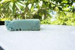 Aqua Sponge-Reinigungswaschanlage Stockbild