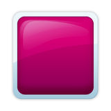 Aqua style - roseate hue. Visually appealing, free of emblem aqua style button Stock Photography