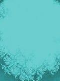 Aqua Teal Blue Vintage Damask-achtergrond Stock Afbeelding