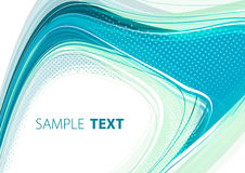 Aqua template. Abstract background with aqua color shape Royalty Free Stock Photo