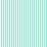 Aqua & teste padrão branco das listras verticais, backgrou sem emenda da textura Imagem de Stock