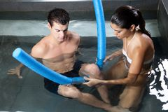 Aqua Therapy Royalty Free Stock Image