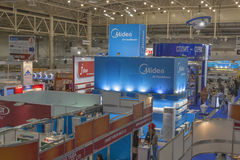 Aqua-Therm Kyiv trade exhibition, Ukraine Royalty Free Stock Photography