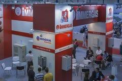 Aqua-Thermhandelutställning i Kiev, Ukraina Royaltyfria Foton