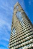 Aqua Tower in Chicago, Illinois, USA stockbilder