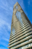 Aqua Tower in Chicago, Illinois, USA Stock Images