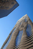 The Aqua Tower in Chicago. The Stock Images
