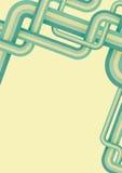 aqua układu retro wektor Obrazy Stock